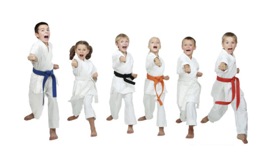 Karate Punch Self-Confidence